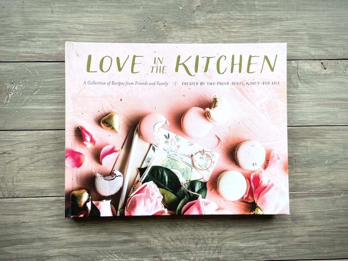 Love in the Kitchen, a cookbook